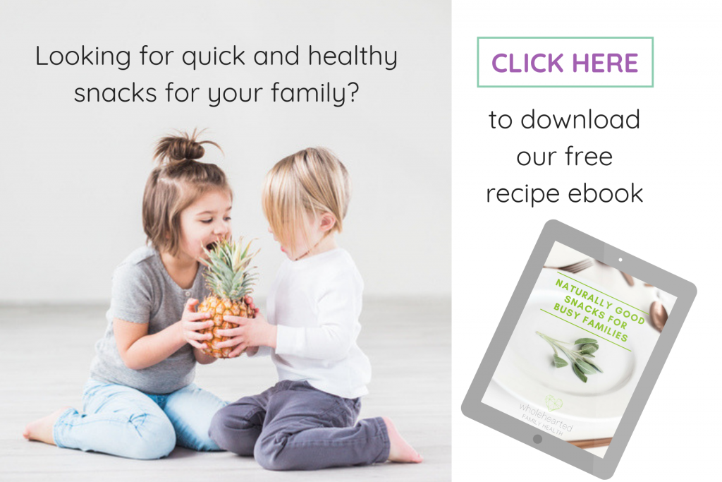 wholehearted family health, nutrition advice